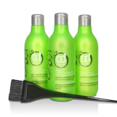 Ламинирование волос горячее обертывание